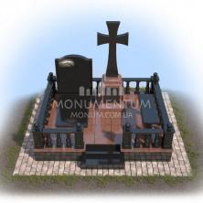 ограда Гранитная для мест захоронения