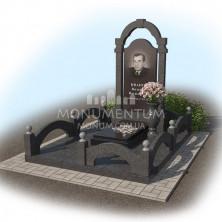 Гранитная ограда для мест захоронения. цоколь 10.
