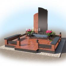 Гранитная ограда для мест захоронения. Цоколь 16
