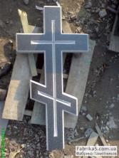 Крест на могилу. гранит. габбро