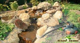 выполним на вашем участке Водопады и пруды