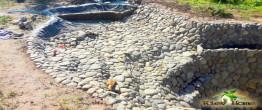 Водопад из натуральных камней