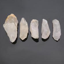 природный сырой белый кварц