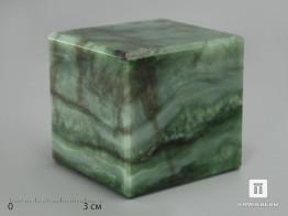 Куб из нефрита, 6,4х6,1 см