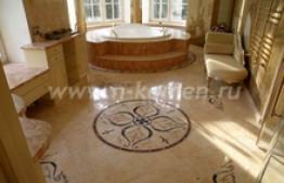 мраморные полы в ванную
