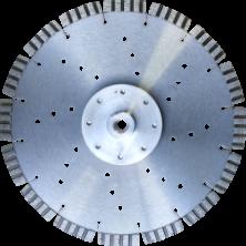 Алмазный диск по армированному бетону