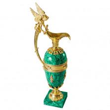 Малахитовая ваза «Павловская»