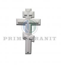 Классический крест из литьевого мрамора