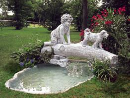 Декоративный пруд. LAGUNA PANAREA