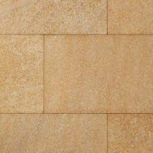 Плитка-камень пиленый (ракушечник, желтый, крупнозернистый)