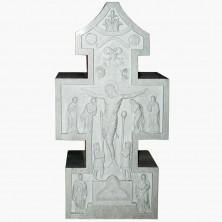 """Мемориальная скульптура """"Крест библейский"""