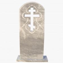 Крест-стела гранитный узорный