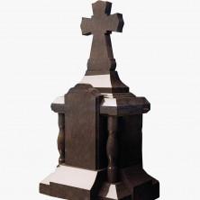 Крест на высоком постаменте