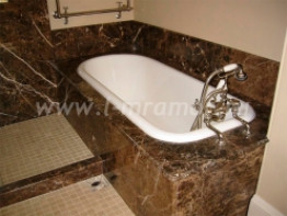 Облицовка ванной искусственным мрамором
