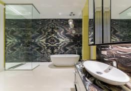 Отделка ванной комнаты. Мрамор
