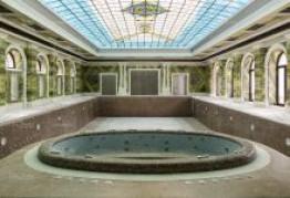 Отделка бассейна мрамором