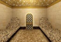 Хамам с подсветкой и звездным небом