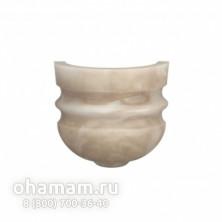 Мраморный абажур МС-02 в хамам