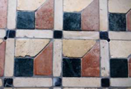 Мозаичный ковёр из камня