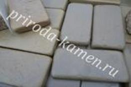 Брусчатка песчаник «серо-зеленый (галтованный)»