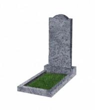 Памятник  резной вертикальный 1000*450*70 (Индия, голубой)