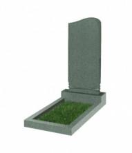 Памятник  резной вертикальный 900*400*70 (Китай, зеленый )