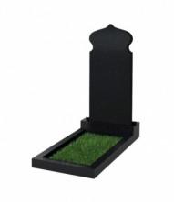 Памятник  резной вертикальный 900*400*70 (Китай, черный )
