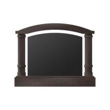Памятник  арка горизонтальный 1200*1500*250 (Россия, коричневый )