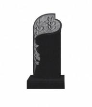 Памятник  элитный вертикальный 1600*700*120 (Индия, черный )