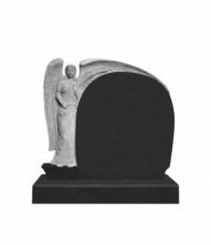 Памятник элитный вертикальный 1180*1300*120 (Индия, черный )
