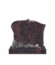 Памятник элитный горизонтальный 1200*1000*100 (Индия, коричневый )