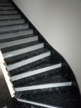 Лестница из мрамора Grigio