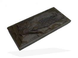 Плитка чёрный доломит со сколом и фаской