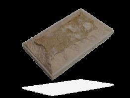 Плитка белый доломит с фаской и сколом
