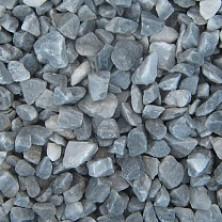Серый мраморный щебень 2,5-5 мм