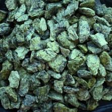 Зеленый щебень 2,5-5 мм (Серпентинит)