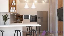 Столешница для кухни с интегрированной мойкой