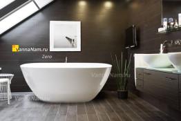 Ванна отдельностоящая из искусственного камня Zero X7 - 170x80