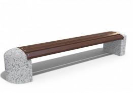 Скамейка бетонная «Стела»