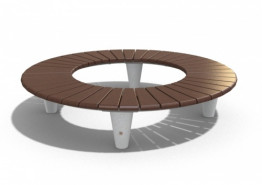 Скамейка бетонная «Круговая»