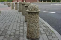 Парковочный столбик «Неаполь» бетонный