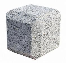 Парковочный столбик «Куб» бетонный