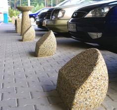 Парковочный столбик «Берн» бетонный