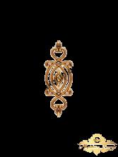 Декоративный узор 12 х 34 см