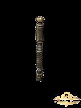 Столб кованый для перил 7,6 х 100 см
