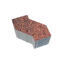 Тротуарная плитка S-форма