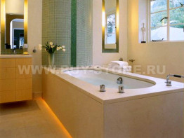 Накладка на ванну из камня Грандекс