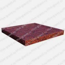 Плитка из красного лезниковского гранита