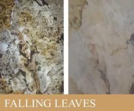 Каменный шпон «FALLING LEAVES TRANSLUCENT» размер 122х61 см