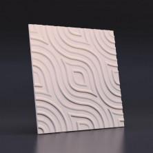 3D панель гипсовая «ВЗГЛЯД» размер 50х50 см
